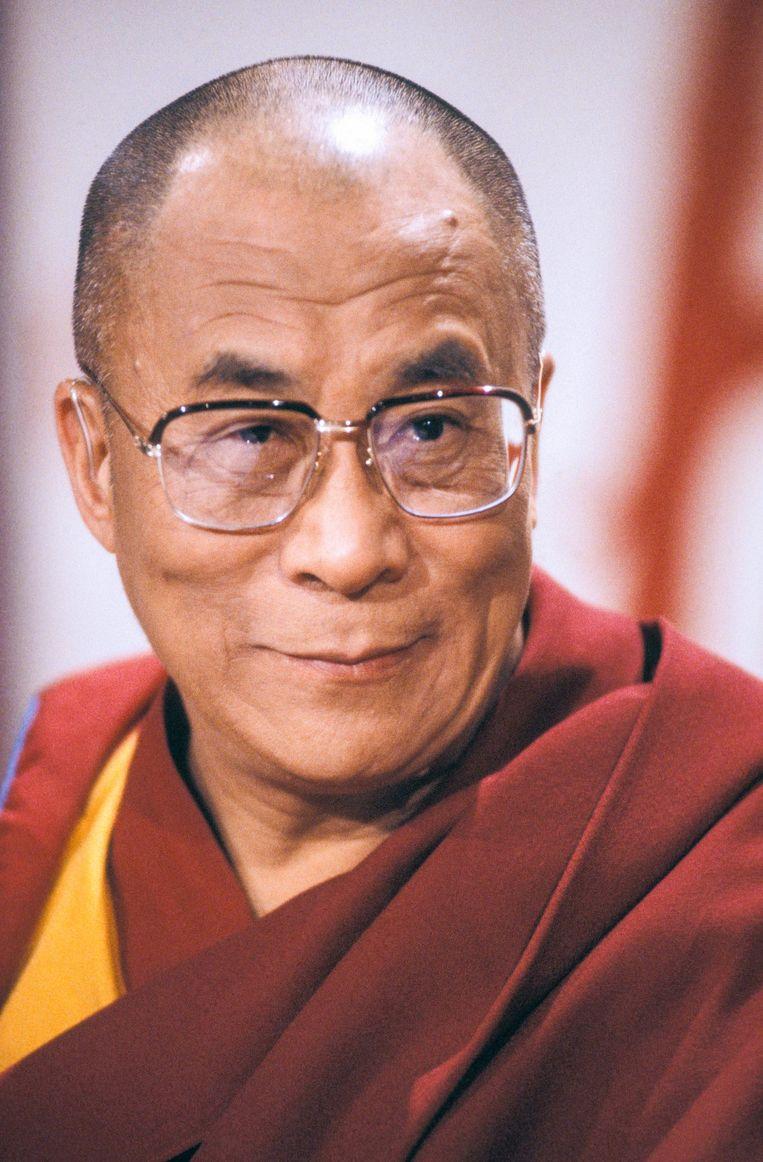De dalai lama Beeld Gamma-Rapho via Getty Images