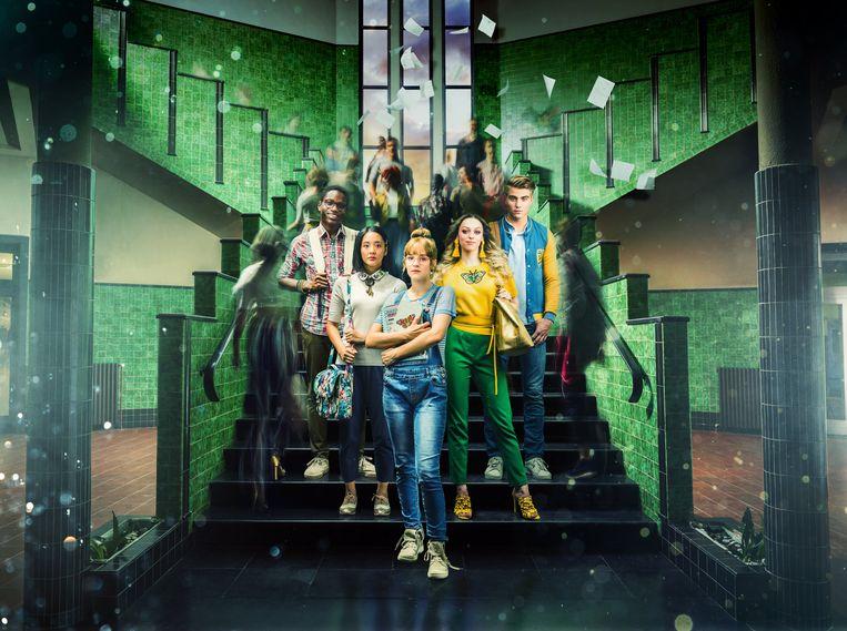 De cast van de succesvolle tv-reeks #LikeMe.