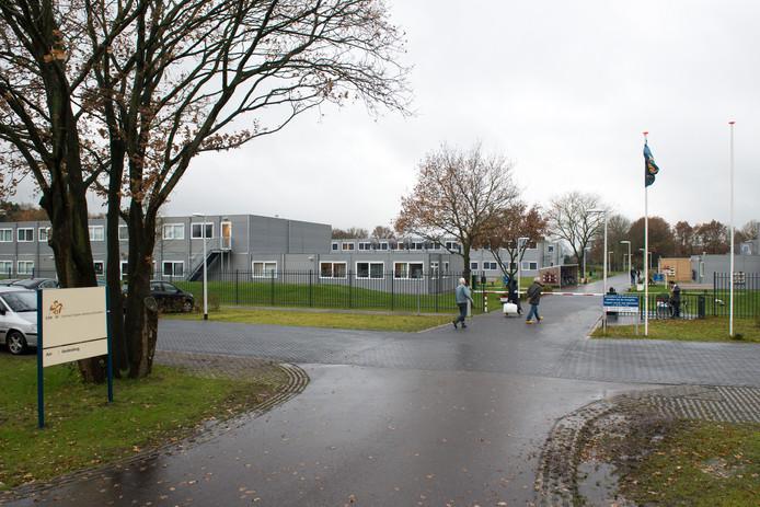 Een asielzoekerscentrum in Nederland