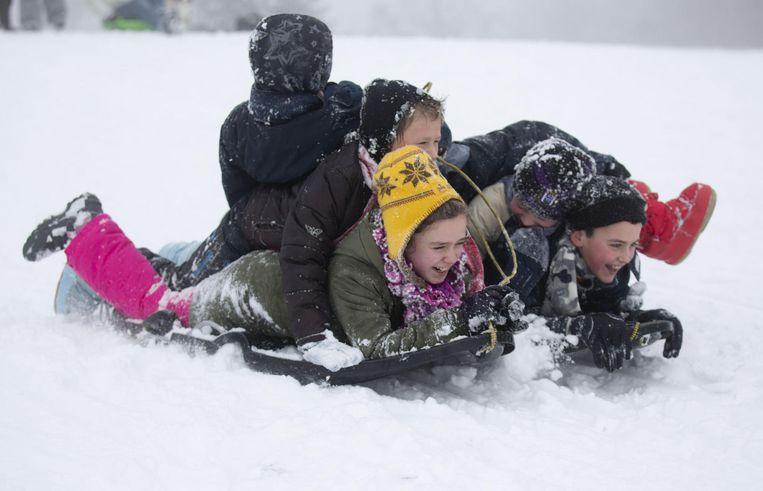 Vanaf deze winter kunnen kinderen in Brugge zich ook uitleven in zogenaamde sneeuwstraten waar niet gestrooid zal worden.