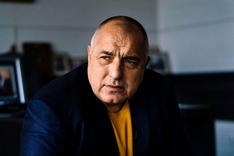 Boyko Borisov. Beeld AFP