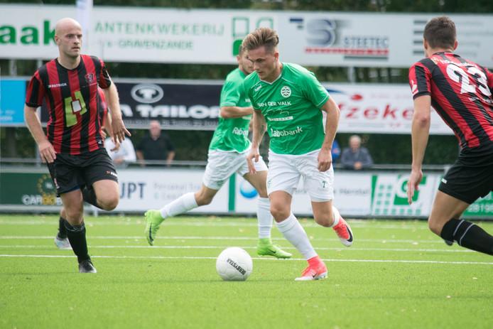 Brandon Tichem maakte de openingstreffer voor Westlandia.