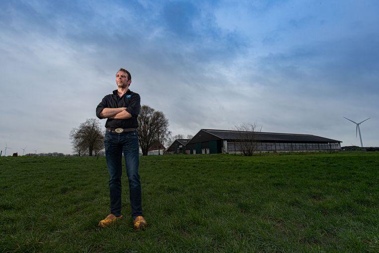 Jeroen van Maanen, de tweede man van Farmer Defence Force. Beeld Foto Freddy Schinkel