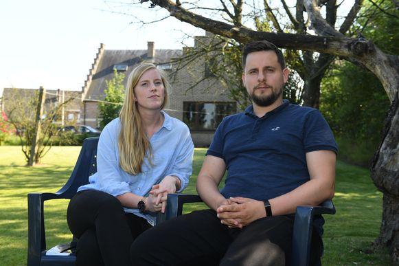 Els Frett en Korneel Lenaerts uit Kampenhout kwamen de 17-jarige Eliska tegen toen ze halfnaakt, bebloed en vol modder uit de Lelieboomgaardenstraat rende.