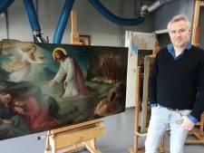 Kruisweg Sint-Joriskerk krijgt nieuw likje verf