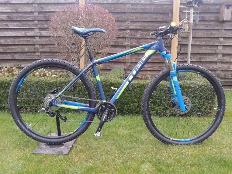 De gestolen fiets van Danny Segaert.