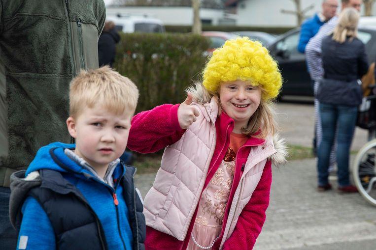 Carnavalstoet Sint Elisabeth in Wijchmaal.