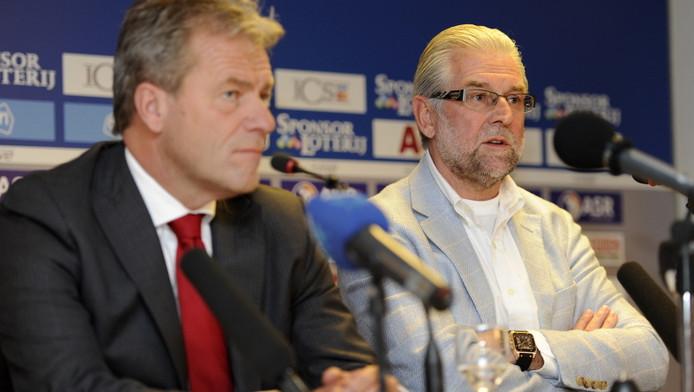 Pim Blokland (r) naast algemeen directeur Eric Gudde. ©PRO SHOTS