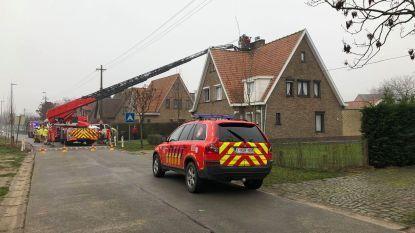 Schoorsteenbrand in Aalter: geen gewonden