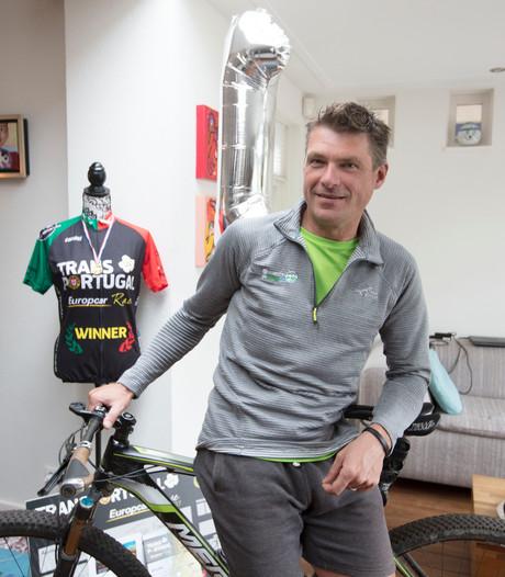 Danny uit Waalre wint zware MTB-wedstrijd in Portugal