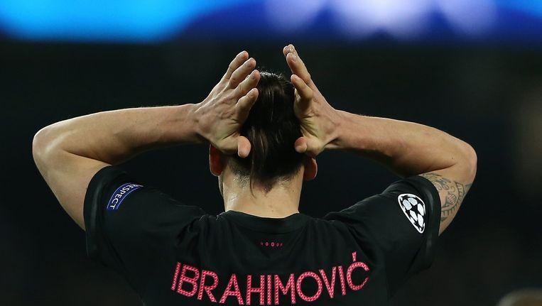 Zlatan Ibrahimovic. Beeld epa