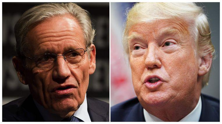 Journalist Bob Woodward sprak met ingewijden van het Witte Huis over Donald Trump voor zijn nieuw boek 'Fear: Trump in the White House'.