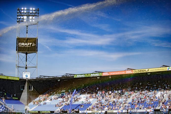 stadium of PEC Zwolle, stadion, estadio during PEC Zwolle - Sparta NETHERLANDS, BELGIUM, LUXEMBURG ONLY COPYRIGHT BSR/SOCCRATES