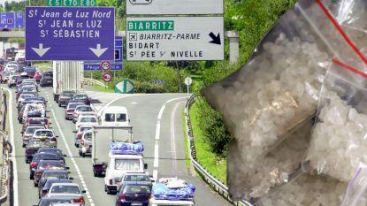 Belg betrapt met 30 kilo amfetaminepasta op grens tussen Frankrijk en Spanje