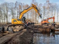 Historisch water hersteld op Zonneland bij Nispen