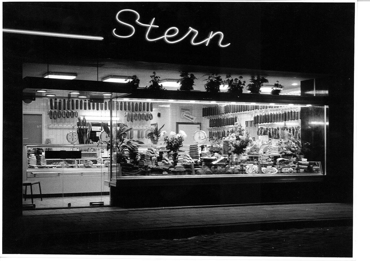 De winkel van Stern. Archieffoto: Familie Stern