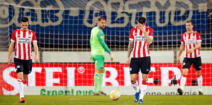 PSV in Heerenveen.