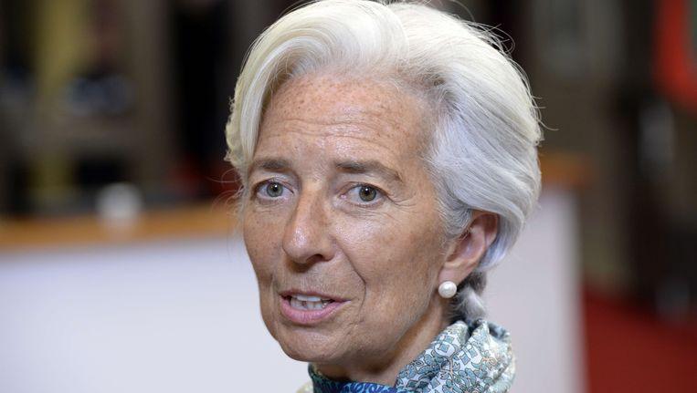 IMF-directeur Christine Lagarde.