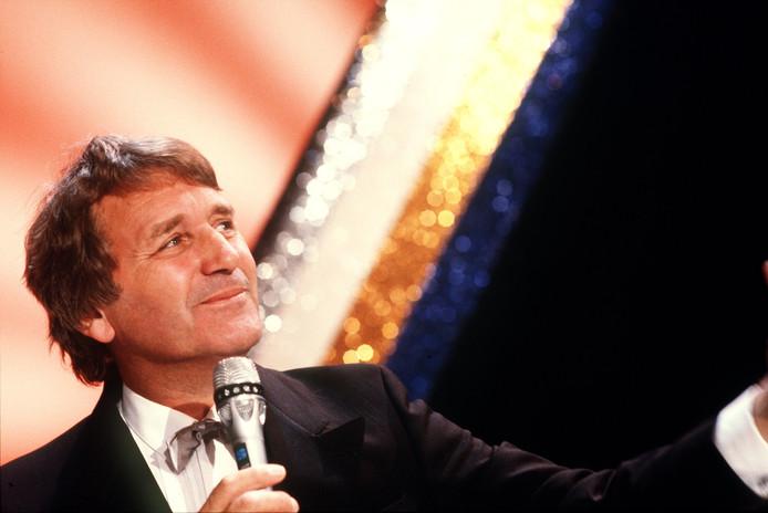 Tijdens de Henk Elsink Show, in 1986