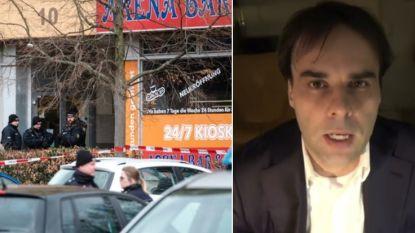 Politie trof vader van schutter ongedeerd aan naast lijken in woning, dader zou slachtoffers in hun auto's hebben beschoten