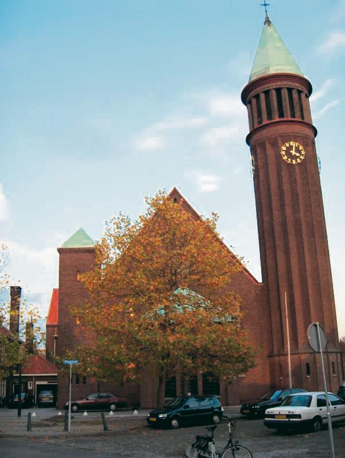 De Heilig Hart van Jezuskerk aan de Ploegstraat.