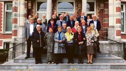75-jarigen ontvangen op gemeentehuis