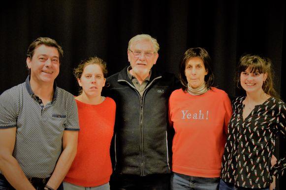 Julie Podevyn, Wendy Thibaut, Heidi Dewickere, Pieter Clauw en Roger Liefhooghe spelen mee in 'Het Geiteneiland'
