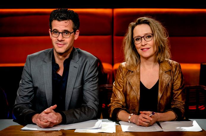 Erik Dijkstra en Willemijn Veenhoven.