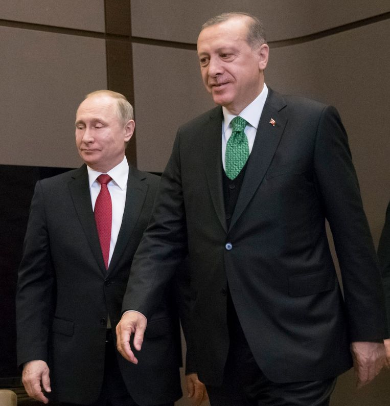 Poetin en Erdogan ontmoetten elkaar vandaag in Sochi.