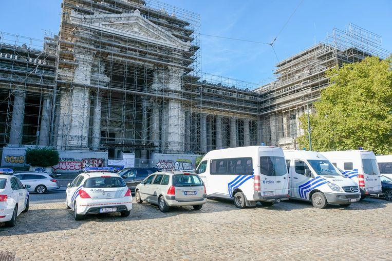 Het Brussels justitiepaleis.