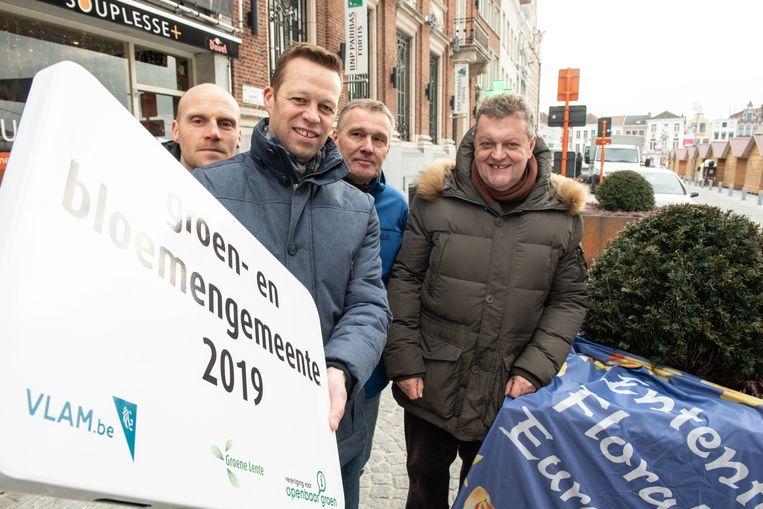 Vorig jaar kreeg Oudenaarde de titel van Groen- en Bloemengemeente in Vlaanderen. Komt er een Europees vervolg?
