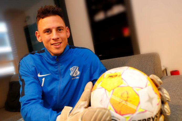 Cas Peters van FC Eindhoven/av