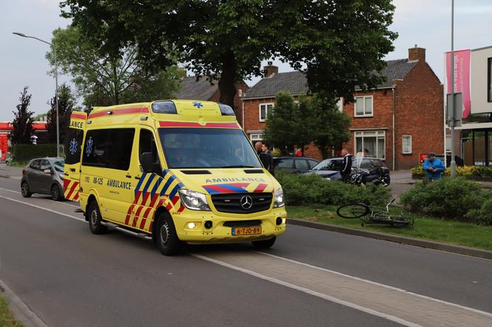 Het ongeluk gebeurde op de Nieuwe Tielseweg in Tiel.