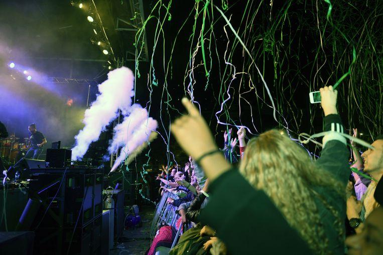 De Studentenwelkom in Leuven met optreden van Broederliefde.