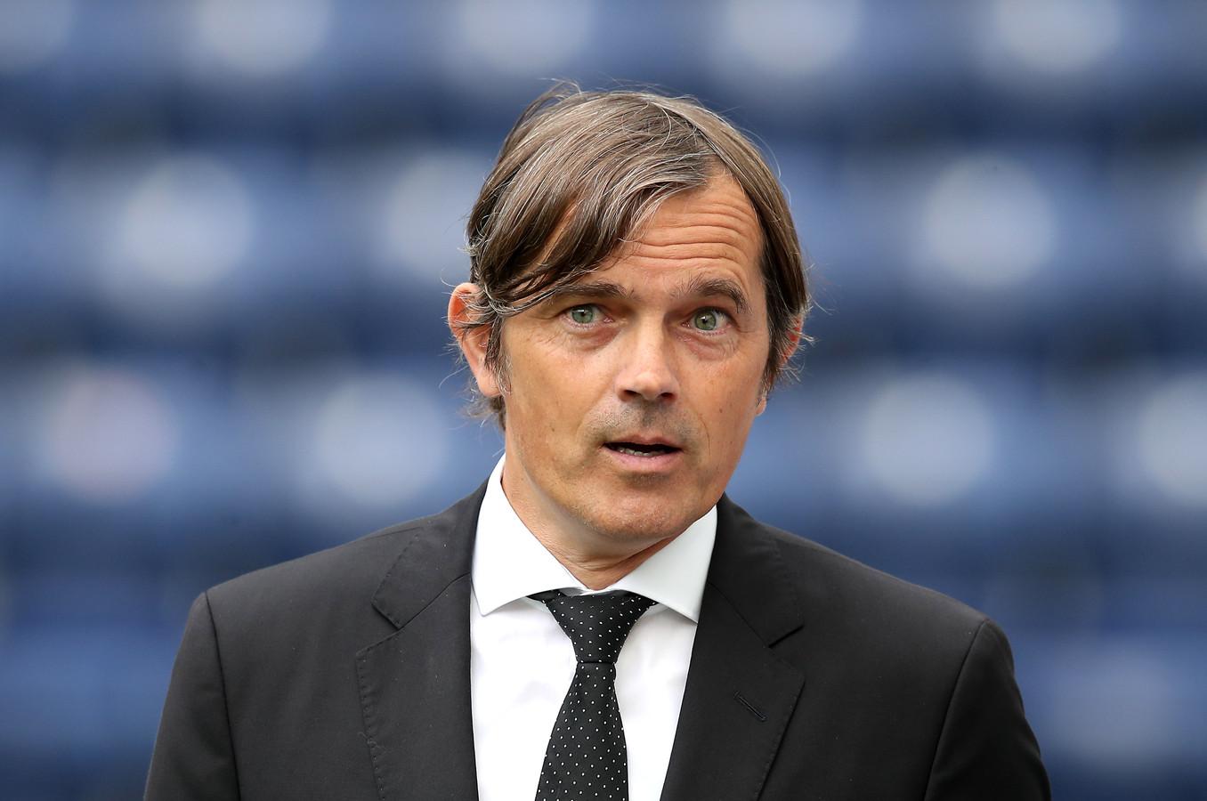 Derby County-coach Phillip Cocu.