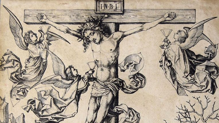 Kunst Van De Middeleeuwen.Rijksmuseum Koopt Zeldzame Middeleeuwse Prent Het Parool