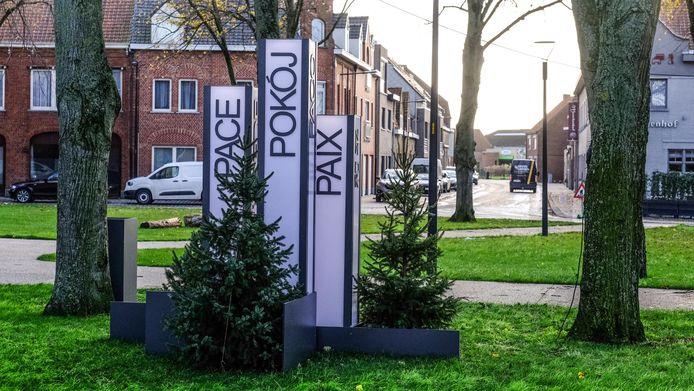 Vredeskunstwerk Langemark