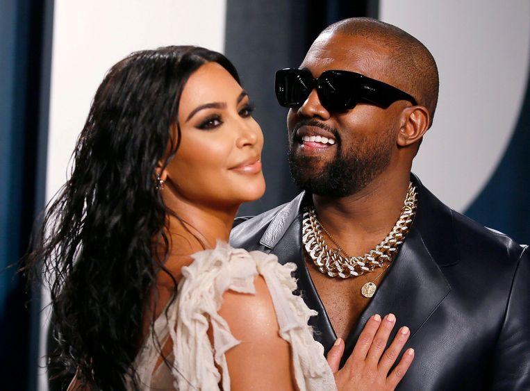West met zijn 'adviseur' Kim Kardashian.