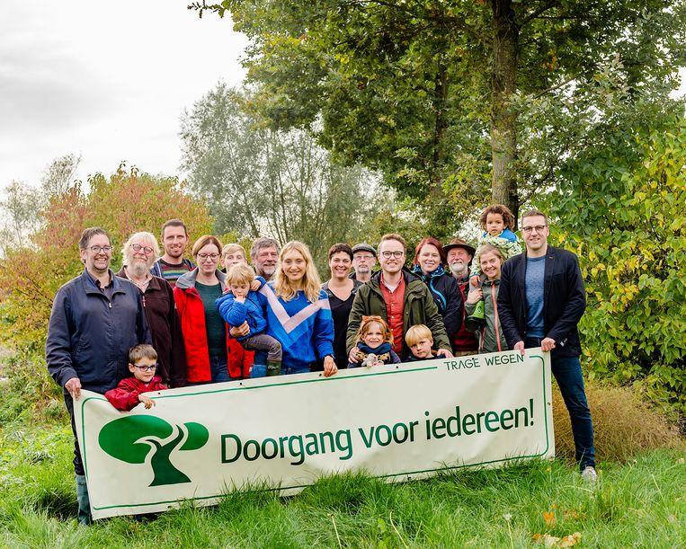 Groen wil onder meer de Ketelaarsgraswegel in ere herstellen.