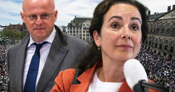 Halsema En Grapperhaus Ruzieden Via De App Over