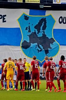 Terugblik in tien foto's: Vijf jaar geleden maakte PEC Zwolle haar Europese debuut tegen Sparta Praag