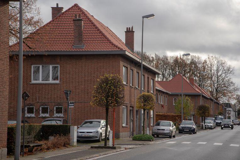 De huizen op de Achttien Augustuslaan in Wetteren worden gerenoveerd.