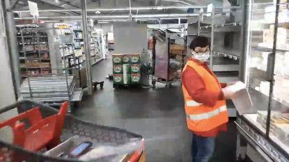 Op 18 mei opent tijdelijke supermarkt van Delhaize aan Parklaan in grote tent