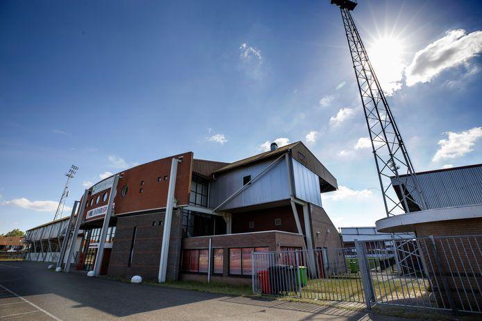 Het huidige stadion van Helmond Sport.