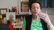Niemand analyseert match tegen Frankrijk smakelijker dan Mariette (89), de oudste fan van onze Rode Duivels