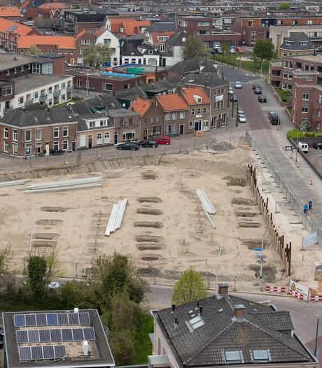 Braken en bloedplassen door verontreinigde grond Kampen