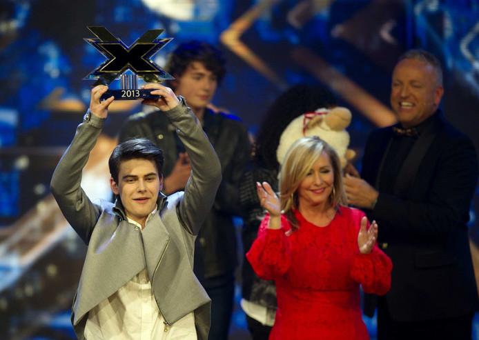 Haris Alagic uit Eindhoven wint X Factor 2013.