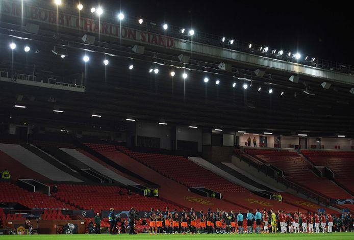 Manchester United en Istanbul Basaksehir op Old Trafford.