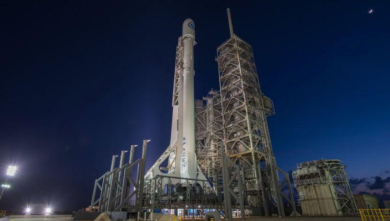 Voor het eerst vervoerde een Falcon 9-draagraket van SpaceX een militaire lading