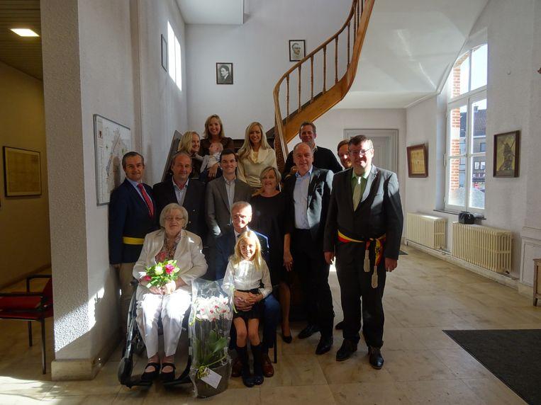 Marina en Fernand zijn 60 jaar getrouwd.